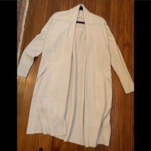 MADEWELL Women's Long Beige Sweater - XS